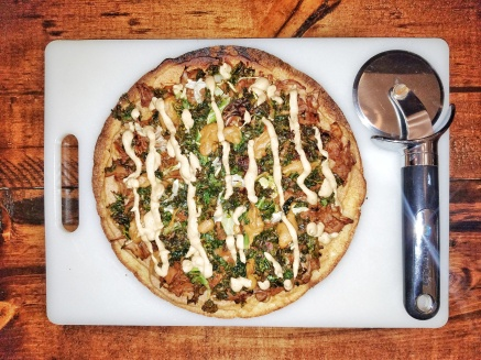 BBQ Jackfruit Pizza